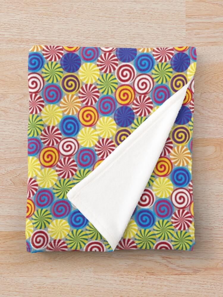 Alternate view of Hard Candies (Pattern) Throw Blanket