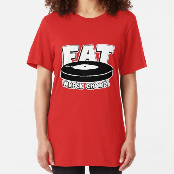 FAT WRECK CHORDS Slim Fit T-Shirt