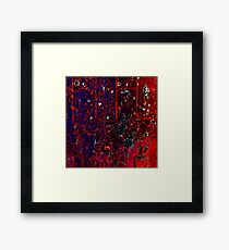 Abstract 110324-260 Framed Print
