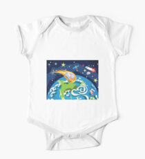 Earth Planet One Piece - Short Sleeve
