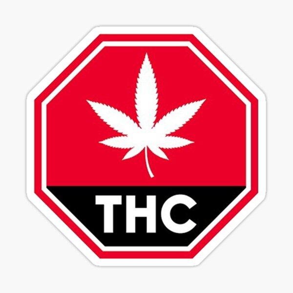 THC Canada Warning Sticker