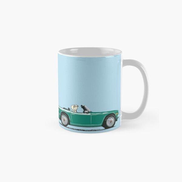 Emerald Green color TR6 – the Classic British Sports Car Classic Mug
