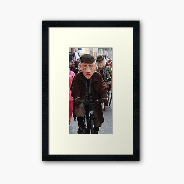 Sherlock Holmes & Miss Marple Framed Art Print