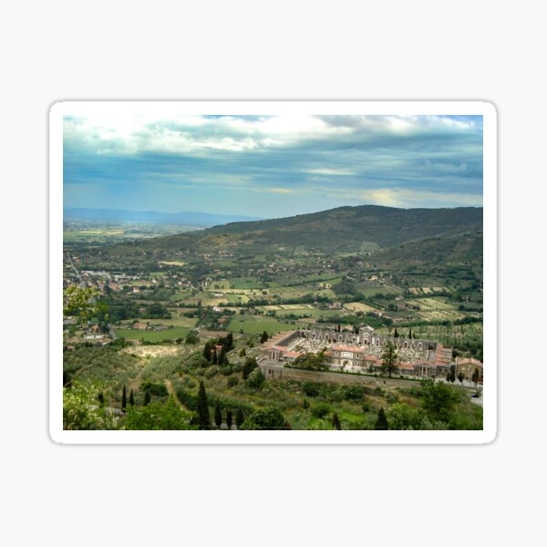 Dreamscapes from Cortona Sticker