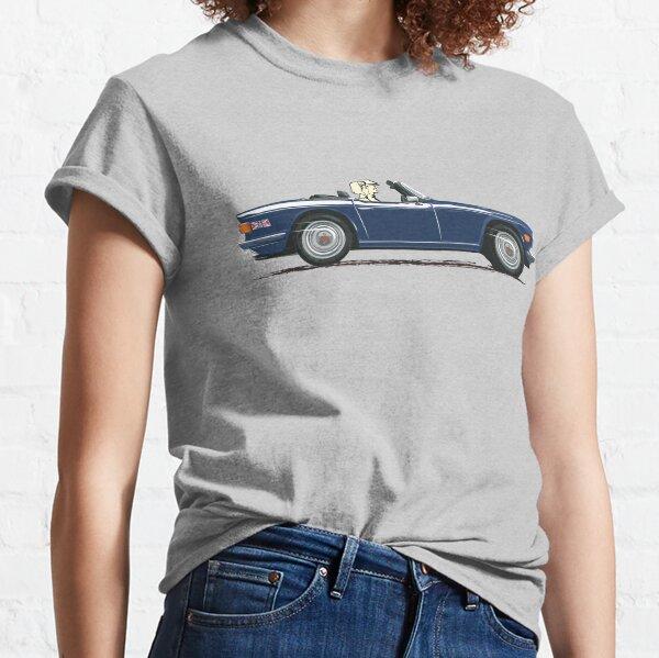 Royal Blue color TR6 – the Classic British Sports Car Classic T-Shirt