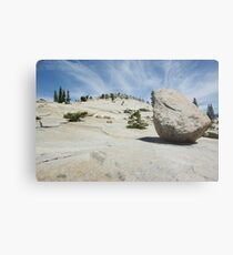 Lunar Rock Metal Print