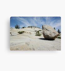 Lunar Rock Canvas Print
