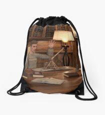 Great Imagination Drawstring Bag