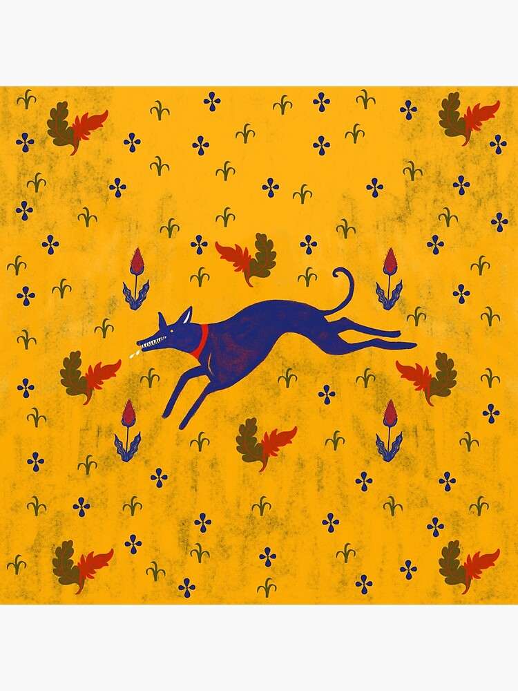 Blue dog running  by spoto