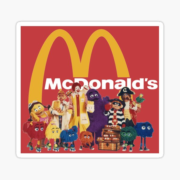 McFriends! Sticker