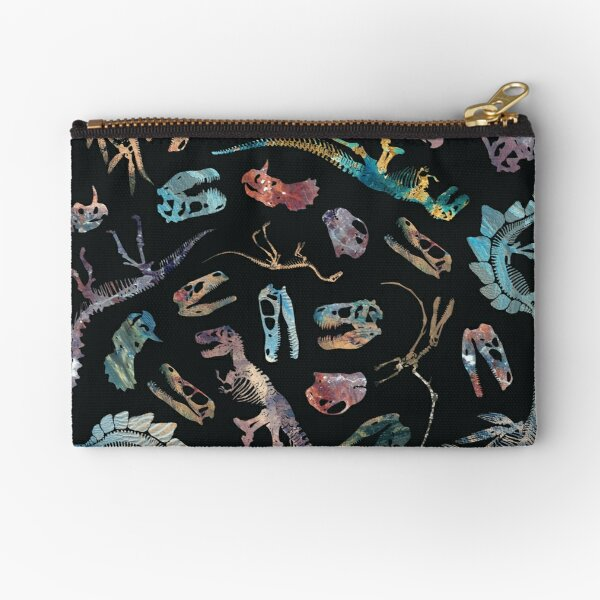 Dinosaurs (Dark) Zipper Pouch