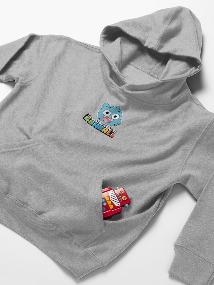 Alternate view of The Amazing World of Gumball™ Kids Pullover Hoodie