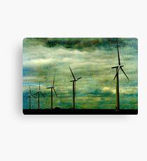 The Wind farm, Oxfordshire Canvas Print