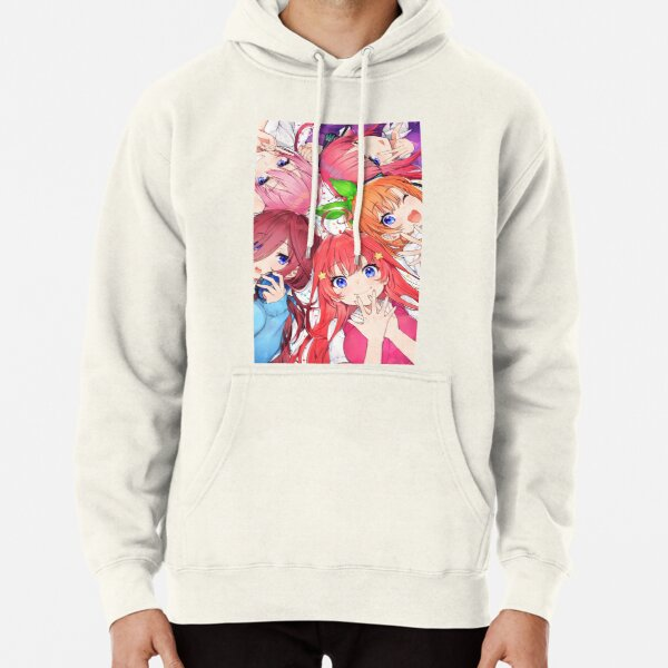 Quintessential Quintuplets - The Quintuplets  Pullover Hoodie