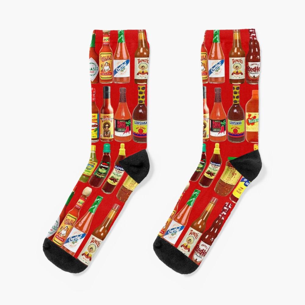 Hot Sauces, Baby! Socks