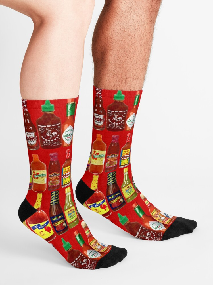 Alternate view of Hot Sauces, Baby! Socks