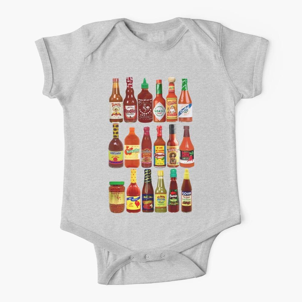 Hot Sauces, Baby! Baby One-Piece
