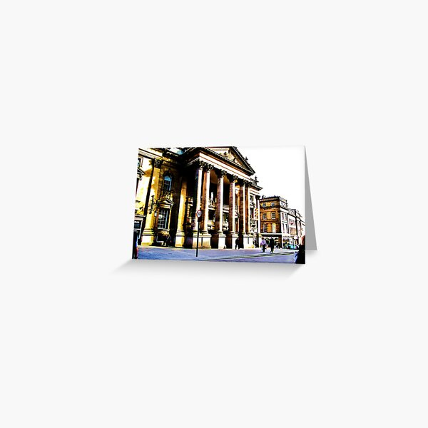 Theatre Royal Newcastle Greeting Card