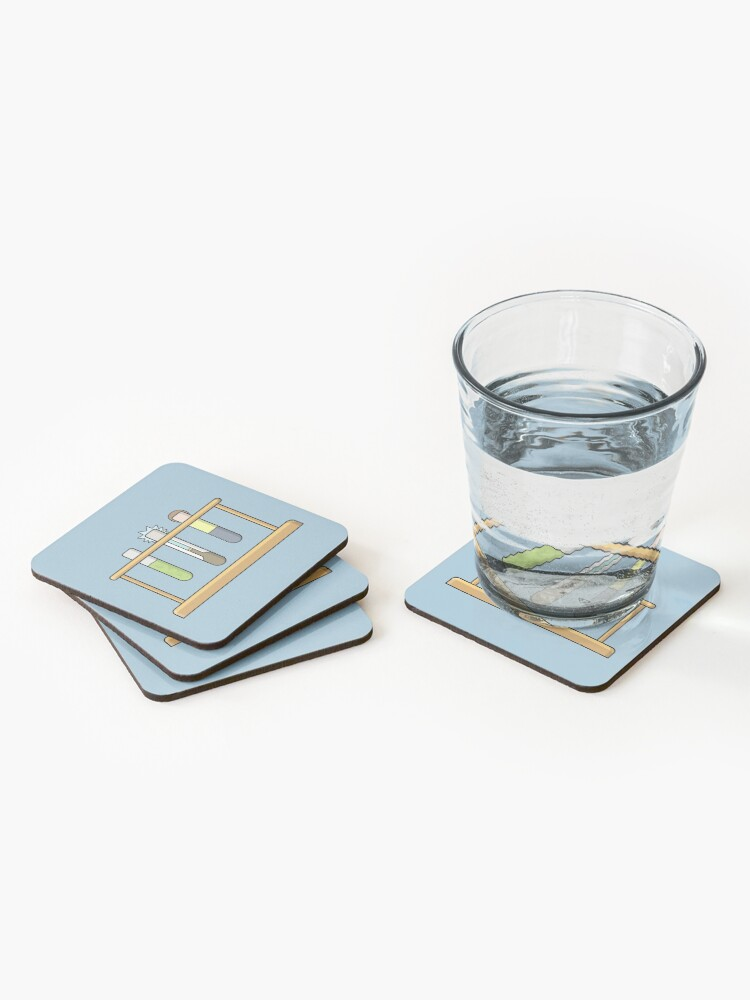 Alternate view of Rick & Morty Science  Coasters (Set of 4)