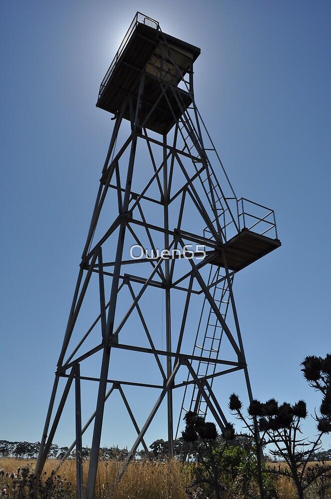 WWII Watch tower, Truganina Munitions Storage Facility by Owen65