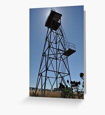 WWII Watch tower, Truganina Munitions Storage Facility Greeting Card