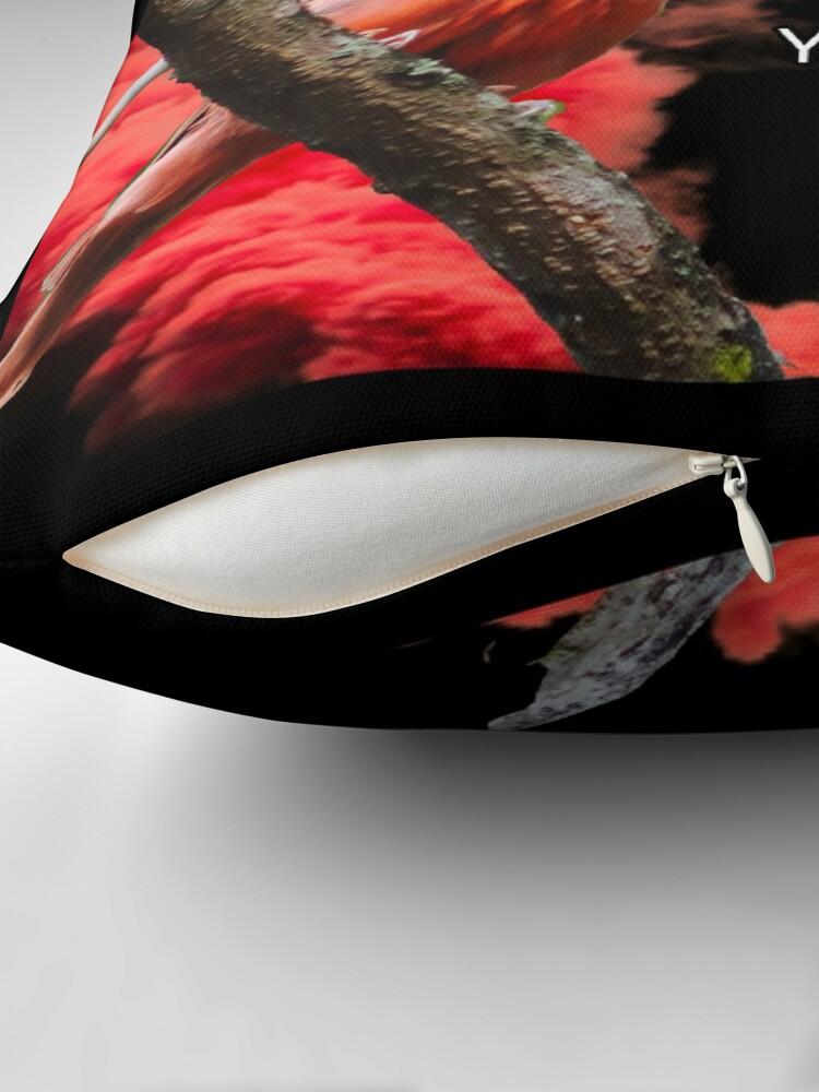 Alternate view of Cardinal Symbolism Throw Pillow