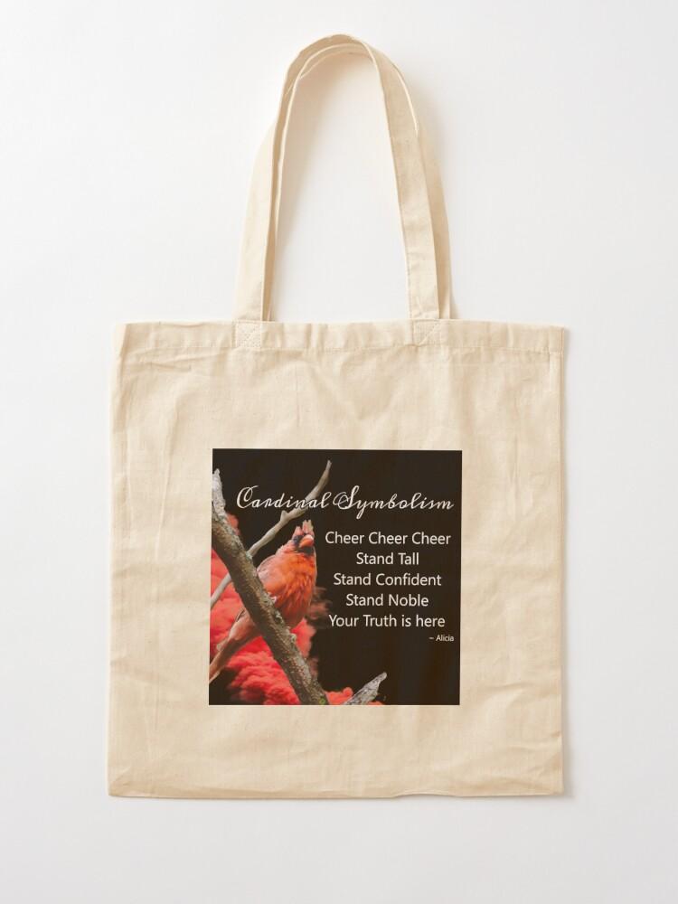 Alternate view of Cardinal Symbolism Tote Bag