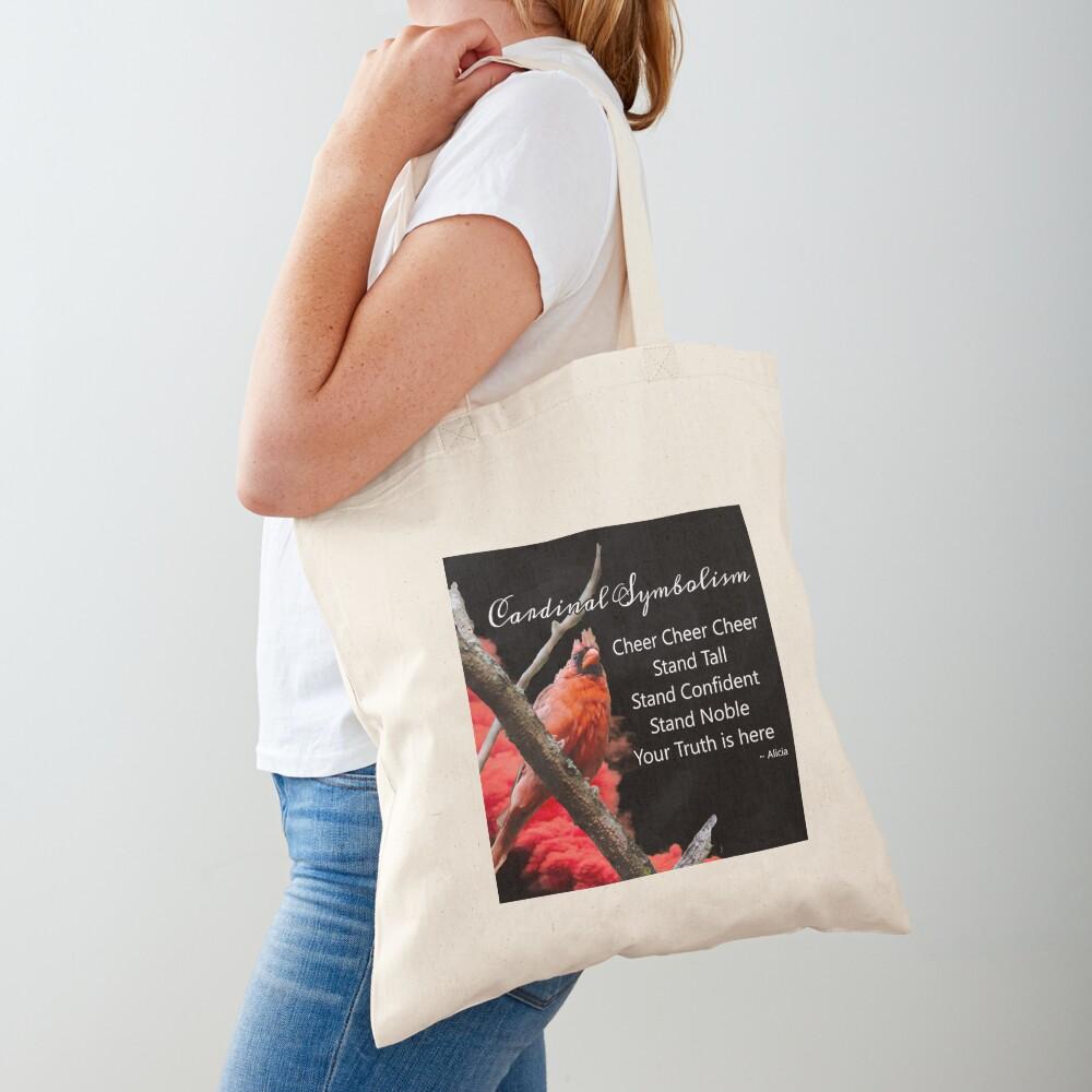 Cardinal Symbolism Tote Bag