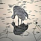 Crane 2 by Sandra Guzman