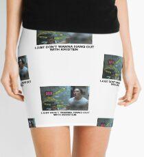 JUST LET IT GO Mini Skirt