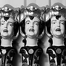 Evil Statues. by lendale