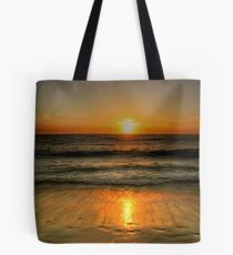 Sunset Over Cottesloe Beach, Western Australia Tote Bag