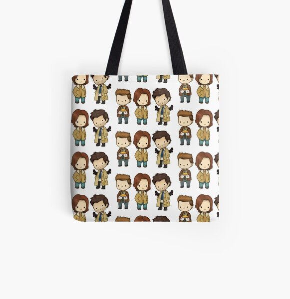 Team Free Will All Over Print Tote Bag