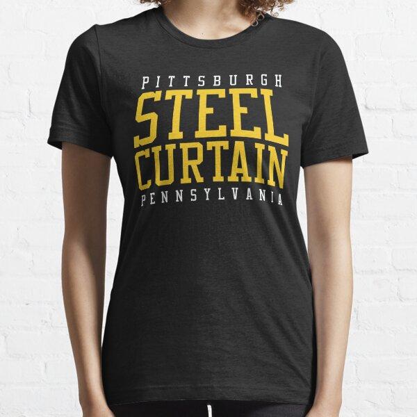 STEEL CURTAIN SHIRT  Essential T-Shirt
