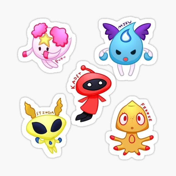 Aquapet Pals Sticker Pack By AnxotheDragon Sticker