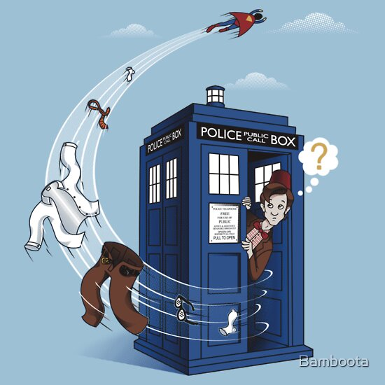 TShirtGifter presents: Superman's TARDIS!