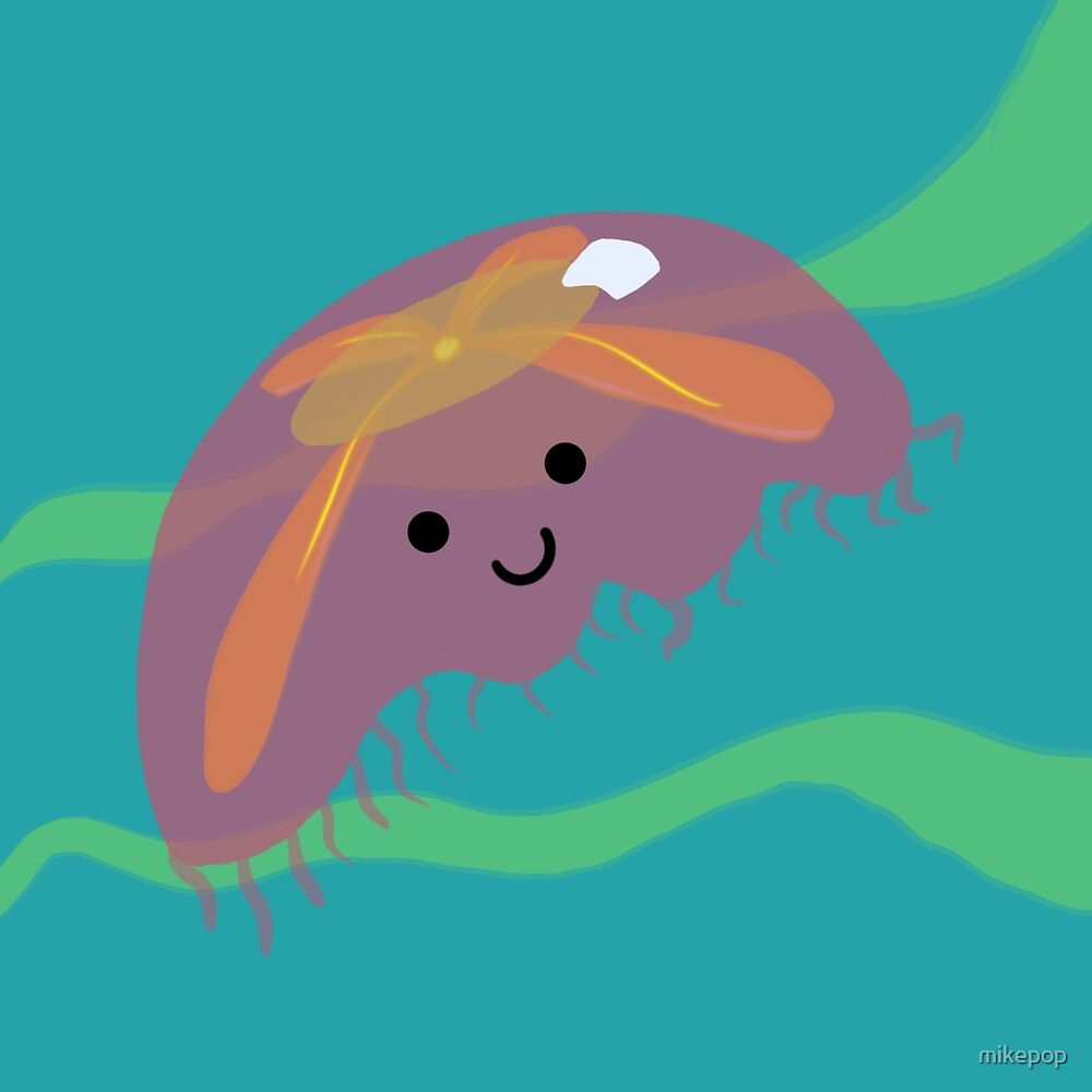 Happy Jellyfish by mikepop