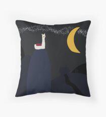 Alpaca Mountain Throw Pillow