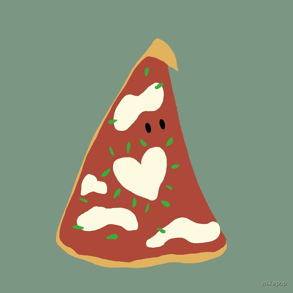 Pizza Love by mikepop