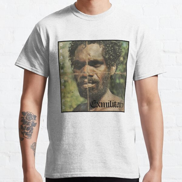 Death Grips - Militärisches Album Art Classic T-Shirt