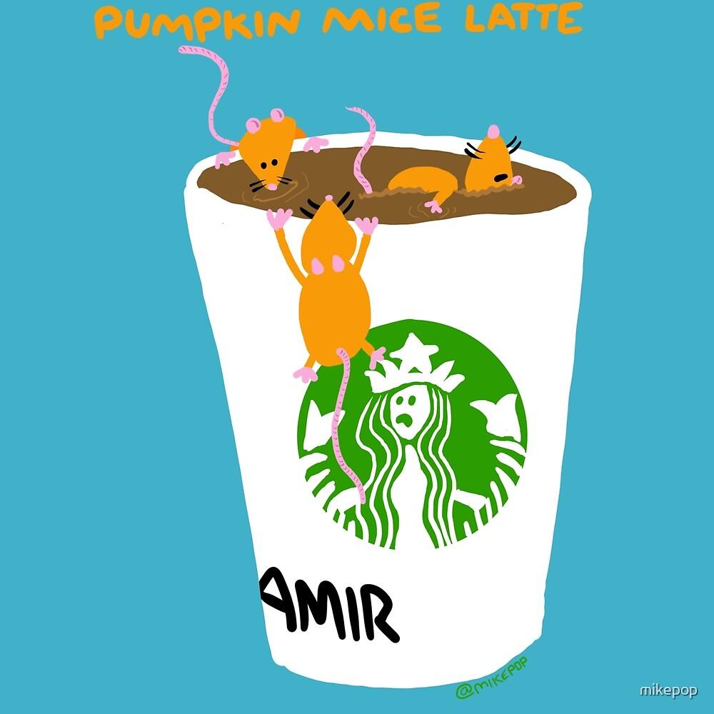 Pumpkin Mice Latte by mikepop