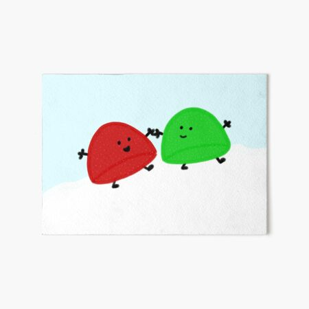 Gumdrop Friends Art Board Print