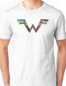 W Dragonfight-cooltexture B&WCarnival of Doooom w/Text Unisex T-Shirt