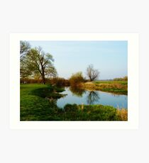Grantchester Meadows 1 Art Print