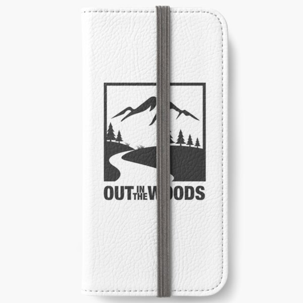 Out in the Woods iPhone Wallet