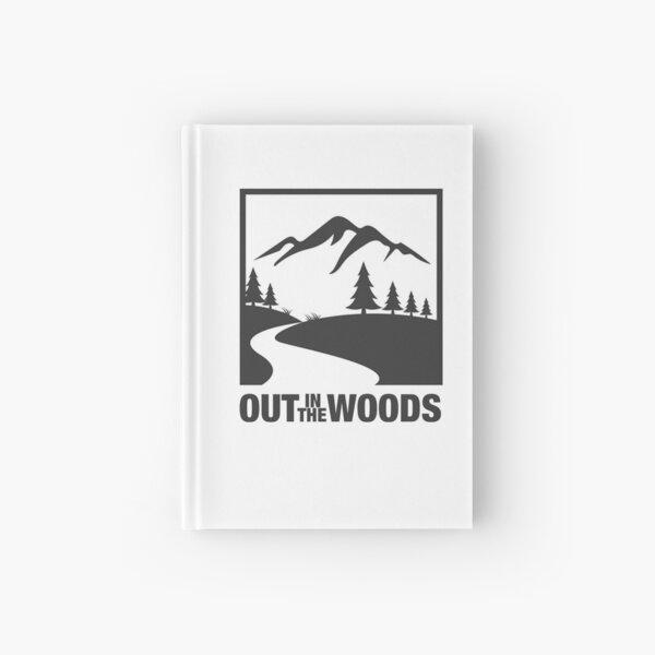 Out in the Woods Hardcover Journal