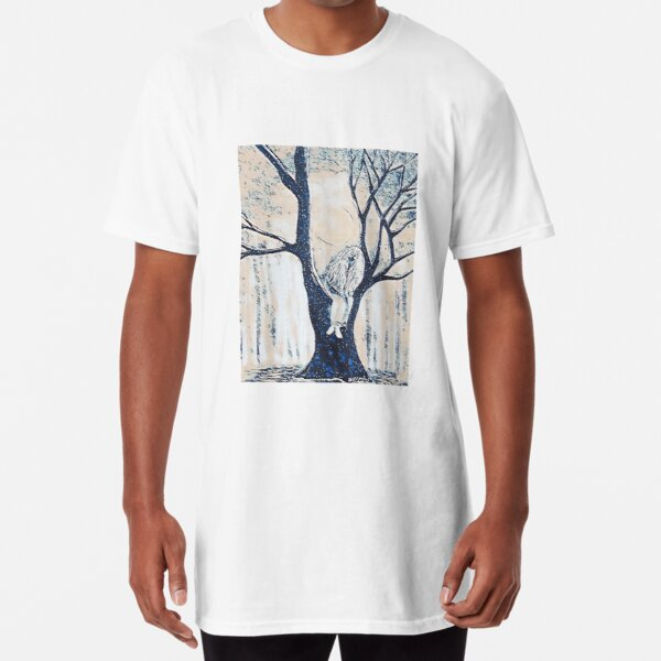 Rusalka on tree  Long T-Shirt