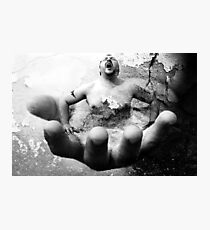 Escape From The Hand Of Justice Photographic Print