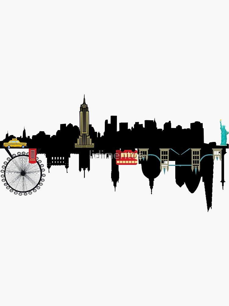 London & New York by lidimentos