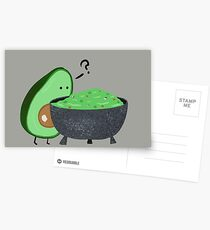 Guacamole Trouble Postcards